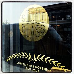 Example of gold on glass
