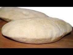 pan arabe pita mabel mendez - YouTube Baba Ganoush, Diy Food, Cooking Recipes, Cooking Videos, Baking, Dinner, Breads, Youtube, Loaf Bread Recipe