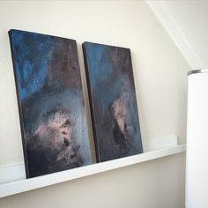Noen dager i Trondheim er over, og nå er vi hjemme igjen for å feire 17. mai Ønsker dere alle en kjempefin dag i morgen! Her er et par av mine malerier på 15 x 30 som har tilholdssted i Trondheim #malerier #maleri #akrylmaling #akryl #lerret #canvas #acrylic #acrylicpainting #paintings #paint #artwork #art