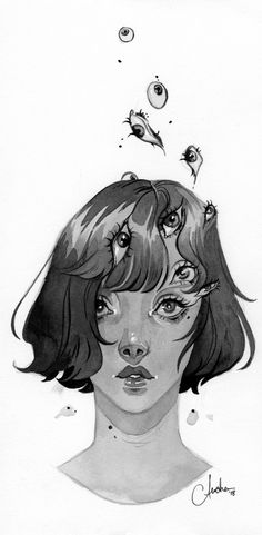 ilustration for inktober by Audra Auclair Fantasy Drawings, Art Drawings, Illustration Art Drawing, Audra Auclair, Inktober, Alternative Art, Drawing Tutorials, Drawing Ideas, Goth Art