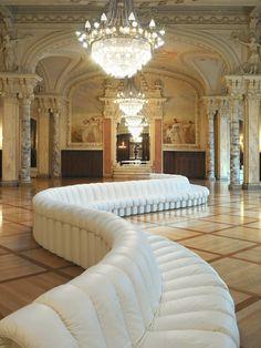 The Ultimate Modern Non Stop Sofa:~