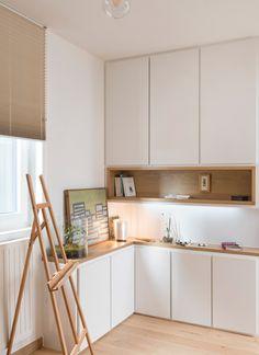 Confluence - Marion Lanoë, Architecte dintérieur et décoratrice, Lyon Decor, House Design, House Interior, Home, Home Office Design, Kitchen Remodel, Small Kitchen, Modern Kitchen, Interior
