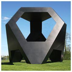 Tony Smith, Generation 1965, Aluminum, painted black, 1034 x 1125 x 1125 cm