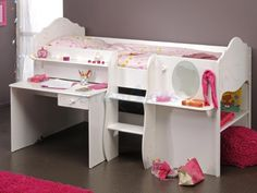 Kaptafel onmisbaar op een meisjes kamer door tamara de boer my style pinterest kidsroom - Meisjes slaapkamer deco ...