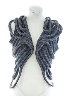 PDF Knitting Pattern  Zombie  post apocalyptic knit layer