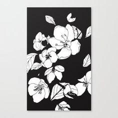 Blossoming Crabapple Flowers Canvas Print Flower Canvas, Canvas Prints, Flowers, Art, Art Background, Photo Canvas Prints, Florals, Kunst, Performing Arts