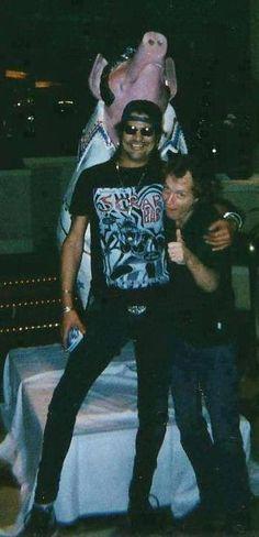 Slash and Angus Young *____*