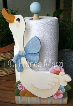 Sweet Cindy Goose Towel Stand Pattern