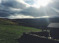 View from the farm retreat Ki Serenity - West Yorkshire