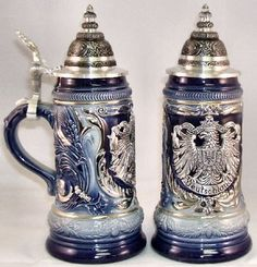 http://www.1001beersteins.com/beer-steins-german-traditional/2010-pewter-eagle-crest-blue-le-german-beer-stein-P17496.htmlShop from the largest online collection of authentic Zoeller and Born Beer steins from Germany including Oktoberfest Beer Steins, Bavarian Beer Steins, Deutschland Beer Steins, Heidelberg Beer Steins and lot more . Free Shipping