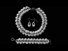 Pearl beading tutorial for beginners. Homemade beading jewelry - YouTube