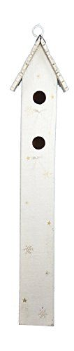 Birdhouses  Fantastic Craft Cream Tall Snow Birdhouse, 31-Inch Porch Makeover * This is an Amazon Associate's Pin. Locate the item on the website simply by clicking the VISIT button