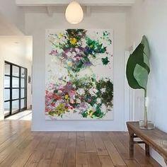 "19 mentions J'aime, 1 commentaires - Art | Inspiration (@vanessapeka) sur Instagram : ""Acrylic on canvas ✨⭐️ Visit www.vanessapeka.fr . . . .#emergingartist #paris #artsy #art…"""