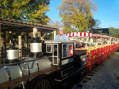This limited engagement Haunted Halloween train is fun for all ages.