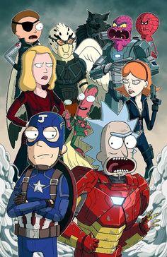 I heard you like Rick and Morty – Hintergrund - Funny Photo İdeas Futurama, Rick Und Morty Tattoo, Rick And Morty Crossover, Rick And Morty Drawing, Rick I Morty, Rick And Morty Comic, Rick And Morty Poster, Ricky And Morty, Regular Show