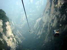 Mount Hu, Saanxi Province, China