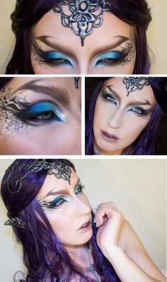 halloweencrafts: DIY Glue Gun Elvish Crown and Ears Tutorial from Sandra…