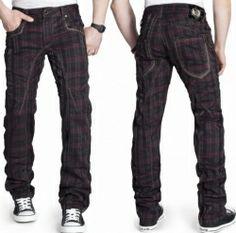 Japrag Herren Jeans Dicke Nähte Designer Vintage Clubwear Hose Slim-Fit  Grau. Kosmo lupo KM 357. Extrem Clubwear Hose. www.jeanscompany24.de bf83775809