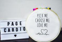 Pick me, choose me, love me - Grey's Anatomy