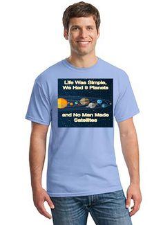 e507da59bd3 Nine Planets Shirt Gildan Men s Women s Unisex Heavy Cotton Tee Meme Funny  T Shirt Classic Fit