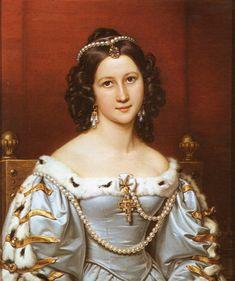 Joseph Karl Stieler (1781-1858) —  Charlotte von Hagn, 1828  (1256x1500)