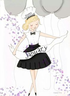 NEW YEAR - January #HelloWinter #HelloJanuary #Seasons