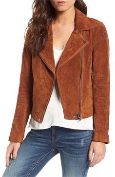 BlankNYC Suede Moto Jacket on sale during the Nordstrom Anniversary Sale Blank Nyc Suede Jacket, Suede Moto Jacket, Leather Jacket, Suede Leather, Brown Suede, Nordstrom Anniversary Sale, Fall Wardrobe, Capsule Wardrobe, Blazers For Women