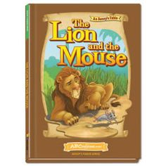 The Lion and the Mouse - Hardcover book from ABCmouse.com. 5 years & up, 28 pages.  In this inspirational story about helping others, a lion finds himself trapped in a net, but a little mouse whose life he had spared comes to his rescue! The book features enriching language and beautiful illustrations designed to support comprehension. It also includes a useful glossary of child-friendly definitions.