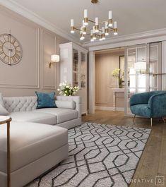 Condo Living, Home Living Room, Living Room Decor, Barn Living, Decor Room, Home Room Design, Living Room Designs, House Design, Design Design