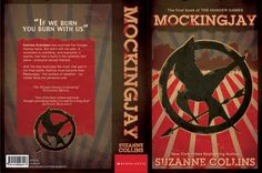 Mockingjay book cover by kbayne.deviantart.com