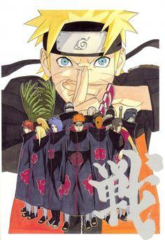 Masashi Kishimoto, Naruto, NARUTO Illustrations, Itachi Uchiha, Kakuzu