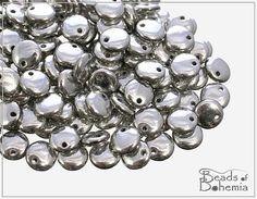 Full Labrador Czech Lentil Beads 6 mm 50 pcs by BeadsOfBohemia, $3.40