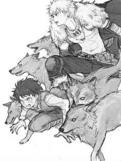 Bnha Midoriya Izuku and Bakugou Katsuki Boku No Hero Academia, Anime Guys, Manga Anime, Anime Crossover, Marvel Memes, Cute Love, Sketches, Fan Art, Drawings