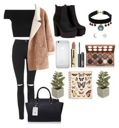 """""""I don't really know.."""" by ficfun ❤ liked on Polyvore featuring Mode, Topshop, Michael Kors, Upper Metal Class, NYX, NARS Cosmetics und Crate and Barrel"""