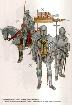Soldiers of the Catalan Civil War 1462-1472