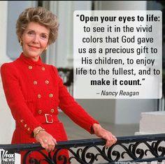 Nancy Reagan .: