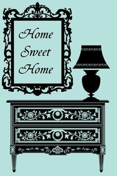 free+digi+stamp_furniture+silhouette_Home.jpg (1067×1600)