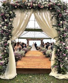 ideas for photography ideas inspiration wedding day Wedding Altars, Outdoor Wedding Decorations, Wedding Ceremony, Wedding Venues, Rustic Church Wedding, Church Aisle Decorations, Church Weddings, Decor Wedding, Outdoor Ceremony