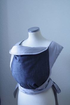 Minimal baby carrier sling for parents MEI TAI CARRIER by kitrino