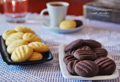 IL LABORATORIO DI MM_SKG: ΤΕΛΕΙΑ ΜΠΙΣΚΟΤΑ ΜΕ 3 ΥΛΙΚΑ! ♦♦ BISCOTTI DI FROLLA CON 3 INGREDIENTI Biscuits, Sweet And Salty, Cookie Bars, Easy Desserts, Waffles, Almond, Cereal, Sweets, Cookies