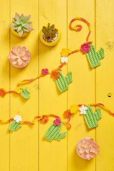 Ravelry: Cactus Garland pattern by Sarah Shrimpton