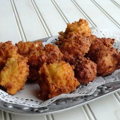 Southern Style Hush puppies, oh how I miss hush puppies!