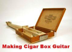 How to Make a Cigar Box Guitar #stepbystep