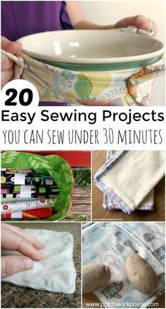 30 minute easy sewin