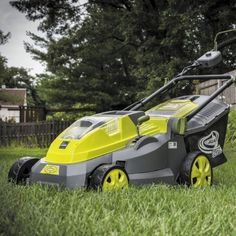 This cordless dynamo is also engineered with a powerful brushless motor for increased battery efficiency, optimal motor performance and extended motor life (up to 2000 hours!) to keep your iON mowing strong season after season. Lawn Equipment, Outdoor Power Equipment, Cordless Lawn Mower, Push Lawn Mower, Walk Behind, Lawn Care, Sun, Extension Cords, Electric
