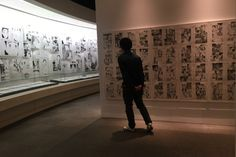 The winner of such awards as the Tezuka Osamu Cultural Prize, the Kodansha Manga Award and the Eisner, Naoki Urasawa (20th Century Boys, Monster) is currently the subject of an exhibition at the Setagaya Literary Museum in Tokyo, and as a huge fan, you can bet I wasn't about to miss it.