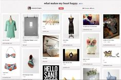 """pinterest: The profile will also be """"more beautiful,"""" saidSilbermann. """"We wanted to make your profile very different from the profile you might have on Facebook or Twitter,"""" he said during a panel today at SXSW in Austin,TX. """"We wanted to make a snapshot of what you're about."""""""