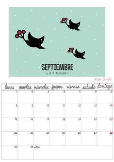Imprimible: Calendario Septiembre 2014