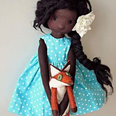 black is beautiful #ooak #fabricdolls