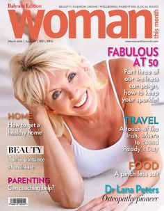 Woman This Month - March 2016 Womens Month, Parenting Issues, Paddys Day, Fashion Beauty, March, Woman, Celebrities, Golf, Celebs
